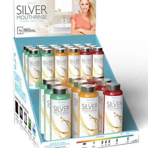 Elementa Silver 2 Tier Counter Display