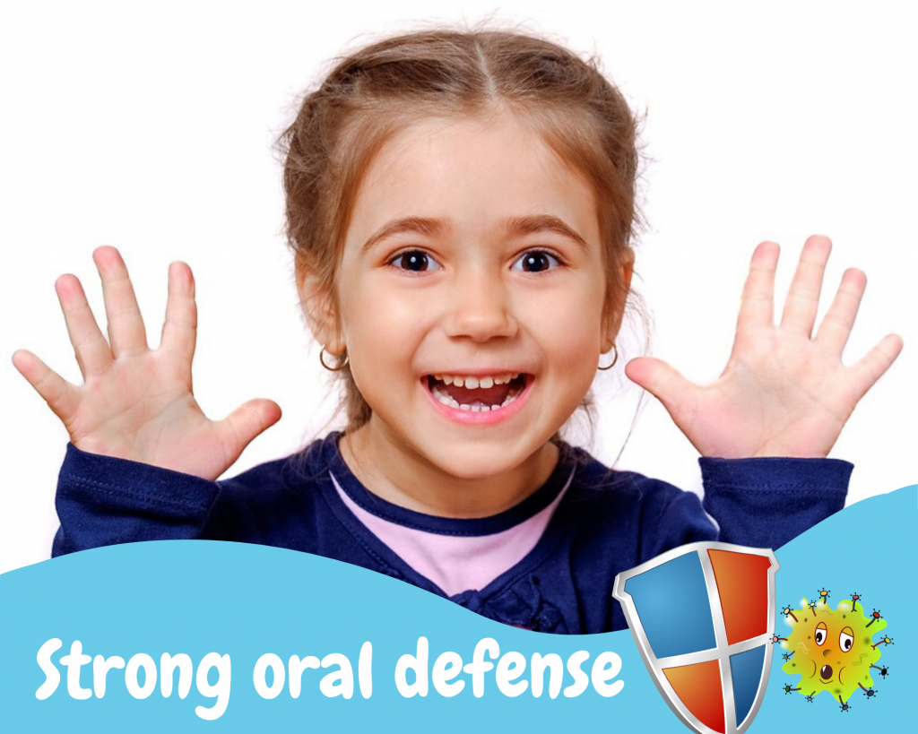 Strong defense against oral disease