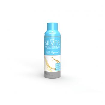 Travel Size Nano Silver Mouth Rinse (2-pk, 3 oz) Peppermint