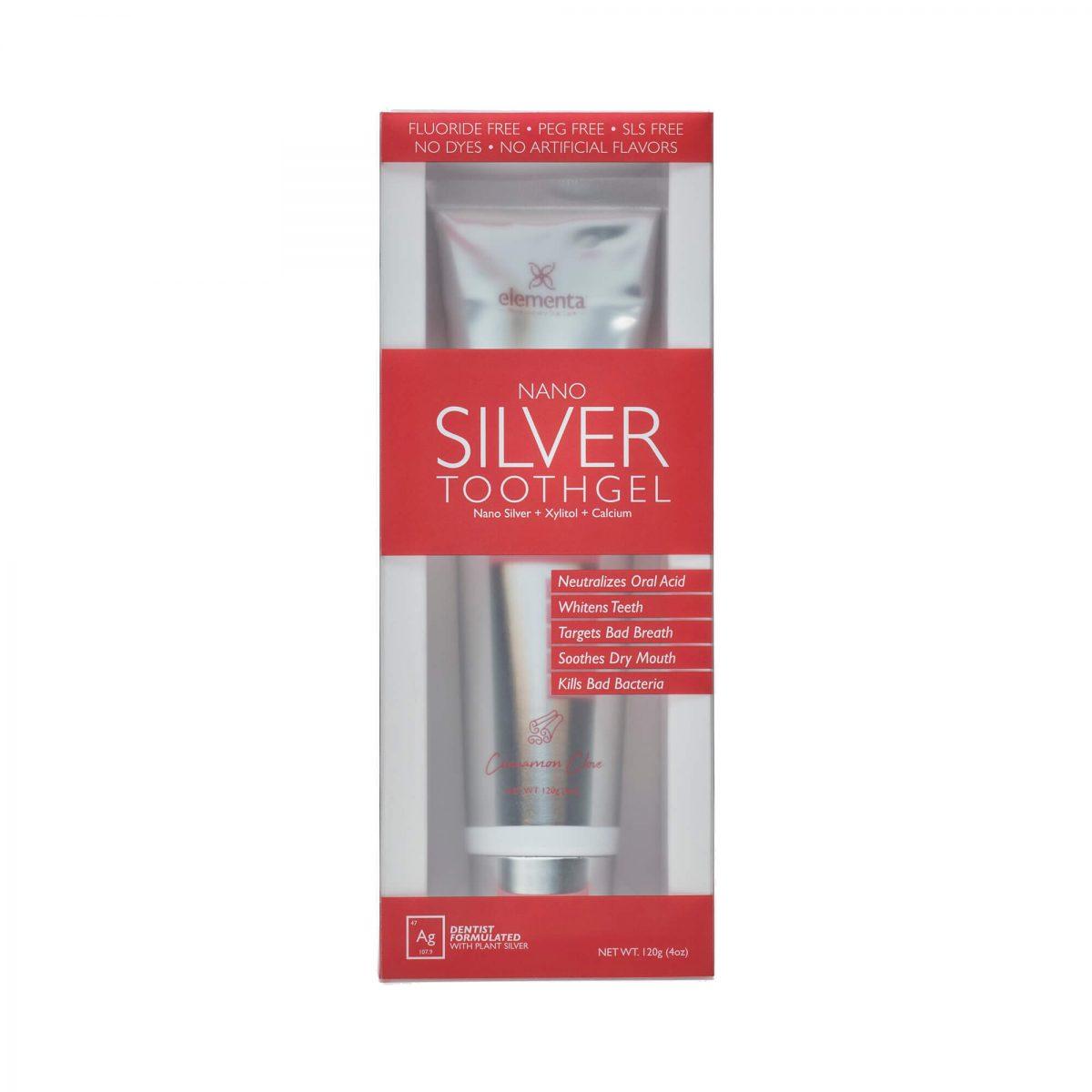 Nano Silver Tooth Gels Cinnamon Clove