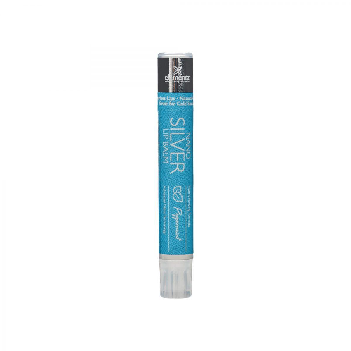 nano silver lip balms peppermint 2 pack