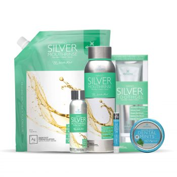 Elementa Silver Full Routine Bundle Winter Mint Peppermint Bundle