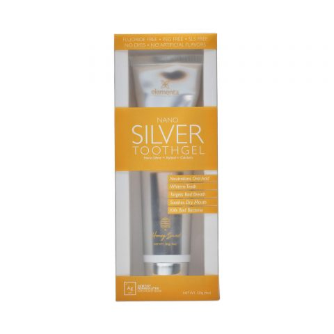 nano silver tooth gel honey sweet 40oz